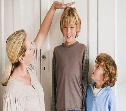 بلند قد شدن فرزندان