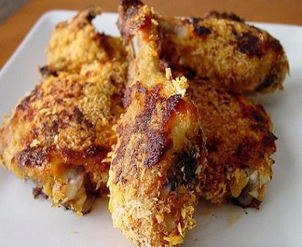 طرز تهیه مرغ سرخ کرده رژیمی